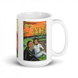 """Picnic on Mars"" Mug 15oz"