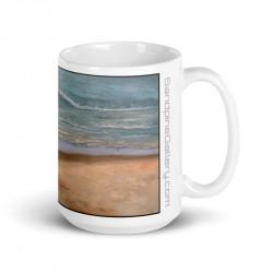 """""""Shoreline with Waves"""" Mug..."""