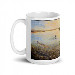 """Marsh Life"" Mug 15oz"