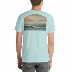 Ocean Wave Shirt - unisex -...