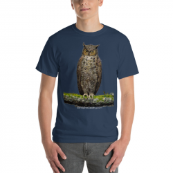 Great Horned Owl Shirt -...