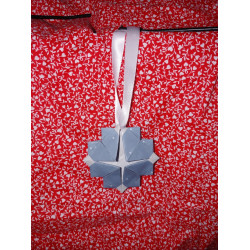 Snowflake Origami Ornament