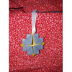 Snowflake Gold Origami...