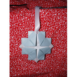 Simple Snowflake Origami...