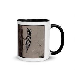 Black and White Warbler Mug...